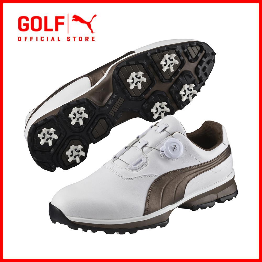 Puma Golf Men Puma Golf Ace Boa - White-Bronze-Black By Puma Golf Official Store.