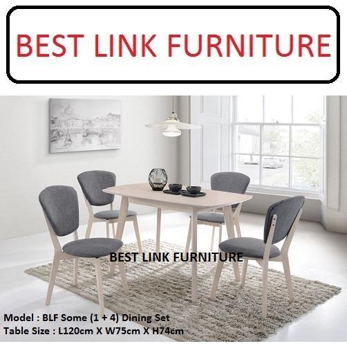 BEST LINK FURNITURE BLF Some (1 + 4) Dining Table Set