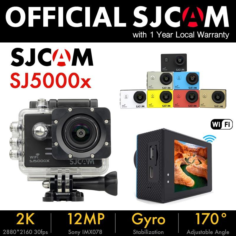 Sjcam Sj5000X Elite 4K Gyro Action Camera W Free Waterproof Case 10 Accessories Black Discount Code