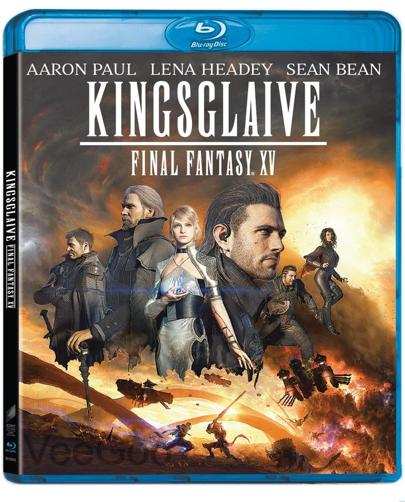 KINGSGLAIVE: FINAL FANTASY XV Blu-Ray (PG13/RA)