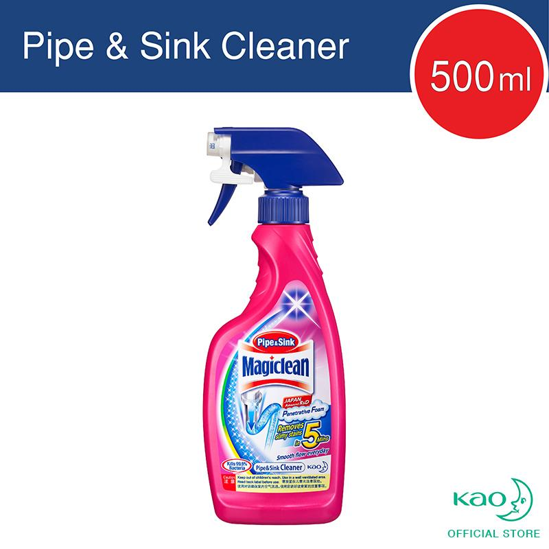 Magiclean Sink&pipe Cleaner Trigger 500ml By Kao.