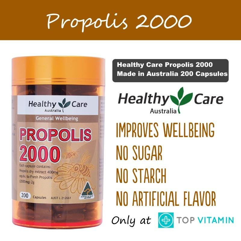 Best Price Healthy Care Propolis 2000Mg 200 Capsules
