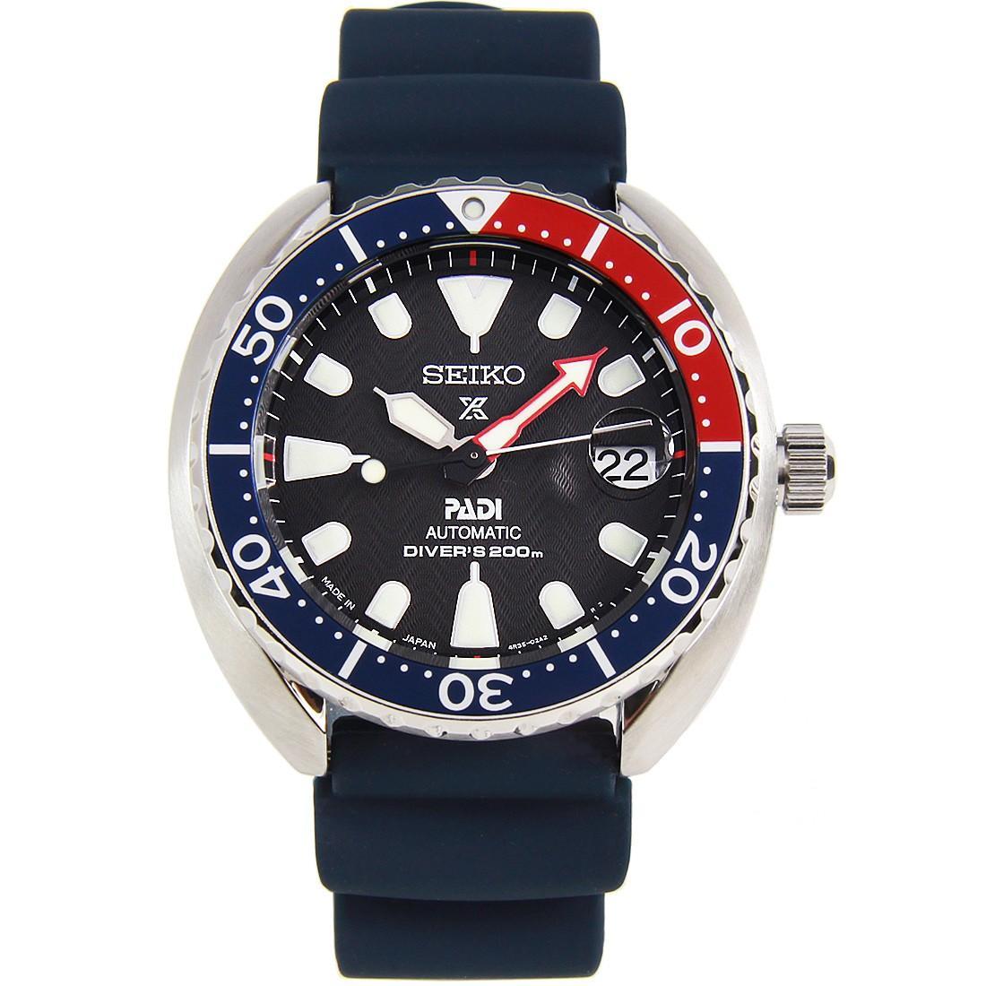 Seiko Prospex Padi Mini Baby Pepsi Turtle Diver Scuba Watch SRPC41 SRPC41J SRPC41J1