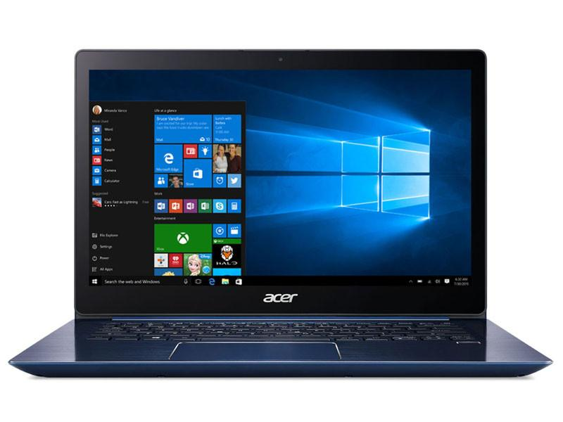 Acer Swift 3 (SF314-54G-8348) 14INCH FHD/i7-8550U/2*4GB DDR4/128GB SSD+1TB HDD/Nvidia MX150/W10 (Blue)