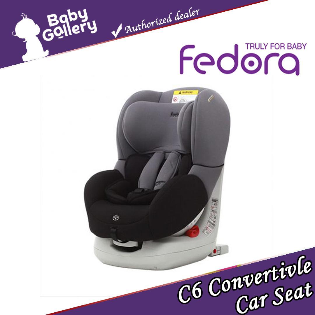 285f47f83b994 Fedora C6 Convertivle Car seat with Isofix system-Black