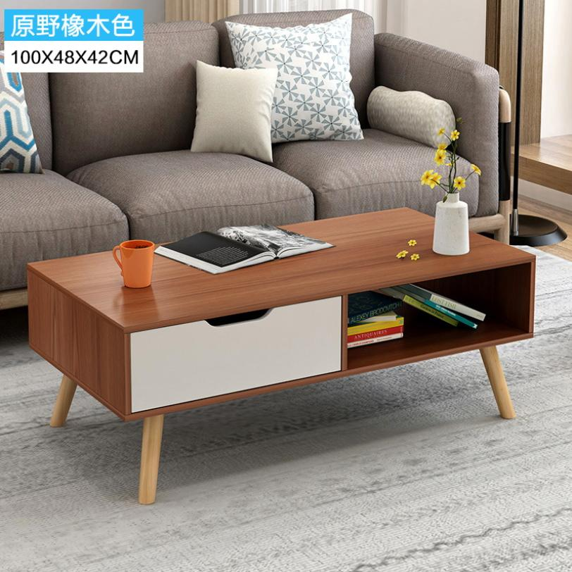 del Hutson Coffee Table (Free Assembly & 12 Months Warranty