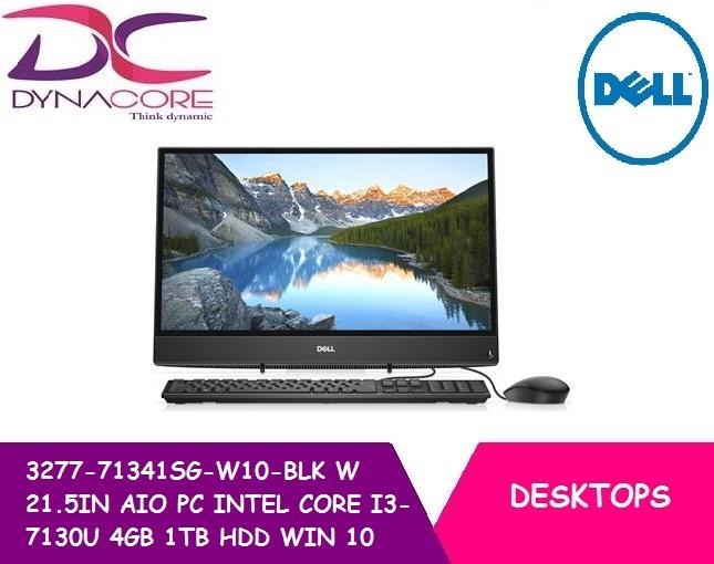 BRAND NEW DELL 3277-71341SG-W10-BLK W 21.5IN ALL IN ONE PC INTEL CORE I3-7130U 4GB 1TB HDD WIN 10 HOME