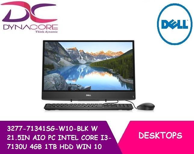 BRAND NEW DELL 3277-71341SG-W10-BLK W 21.5IN ALL IN ONE PC INTEL CORE I3-7130U 4GB 1TB HDD WIN 10 HOME