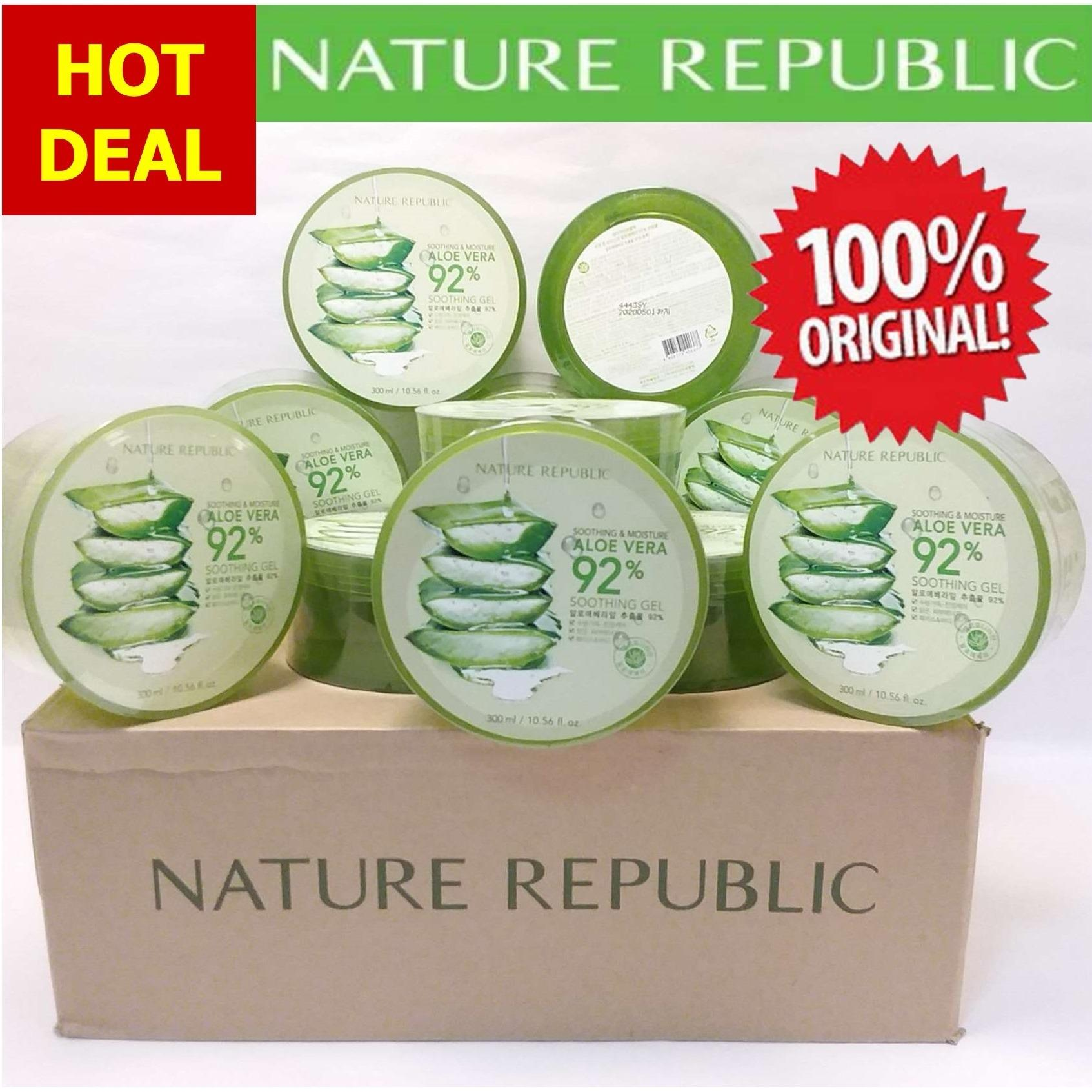 Who Sells Promo Bundle 2 Nature Republic Soothing And Moisture Aloe Vera 92 Soothing Gel 300 Ml The Cheapest