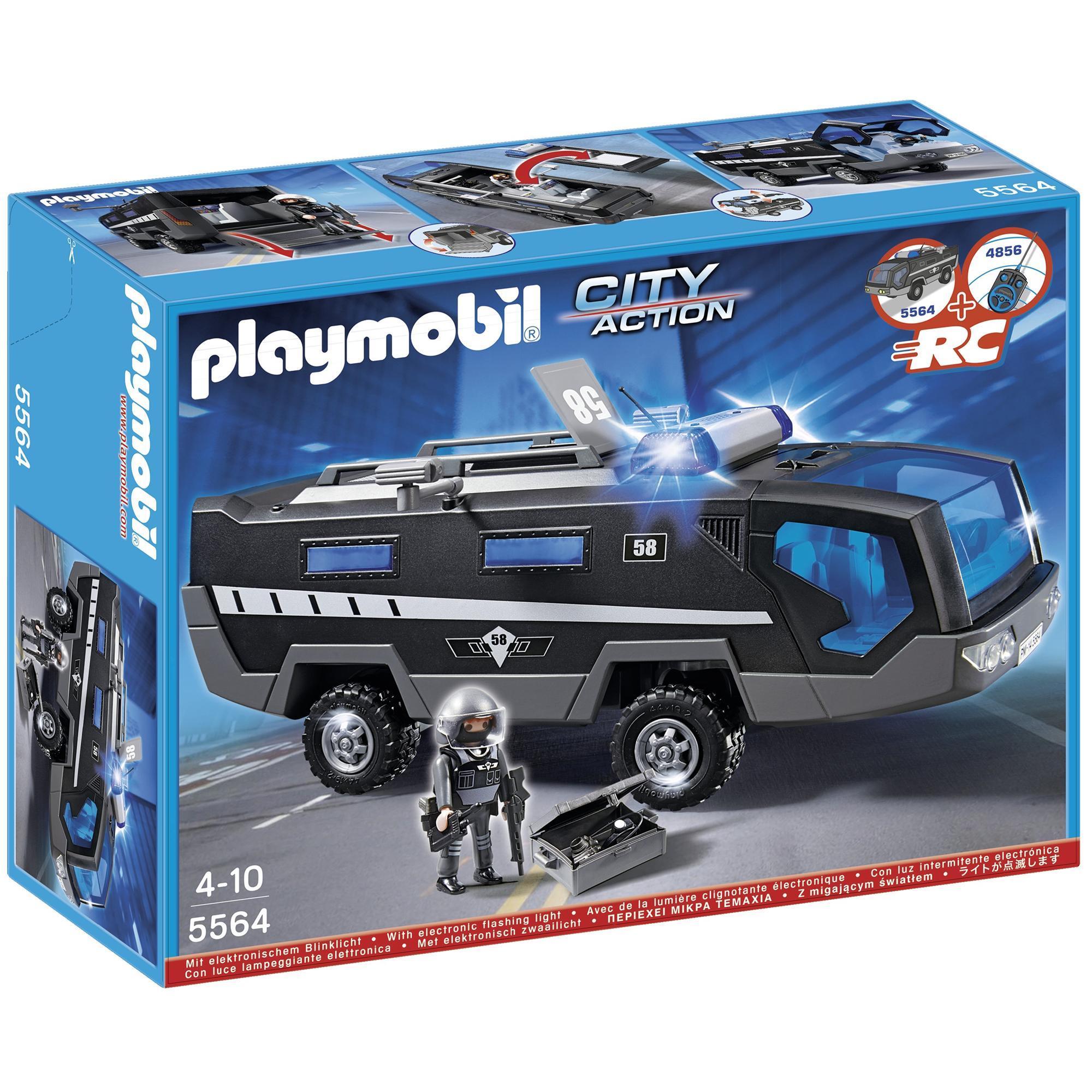 PLAYMOBIL 5564 Tactical Unit Command Vehicle