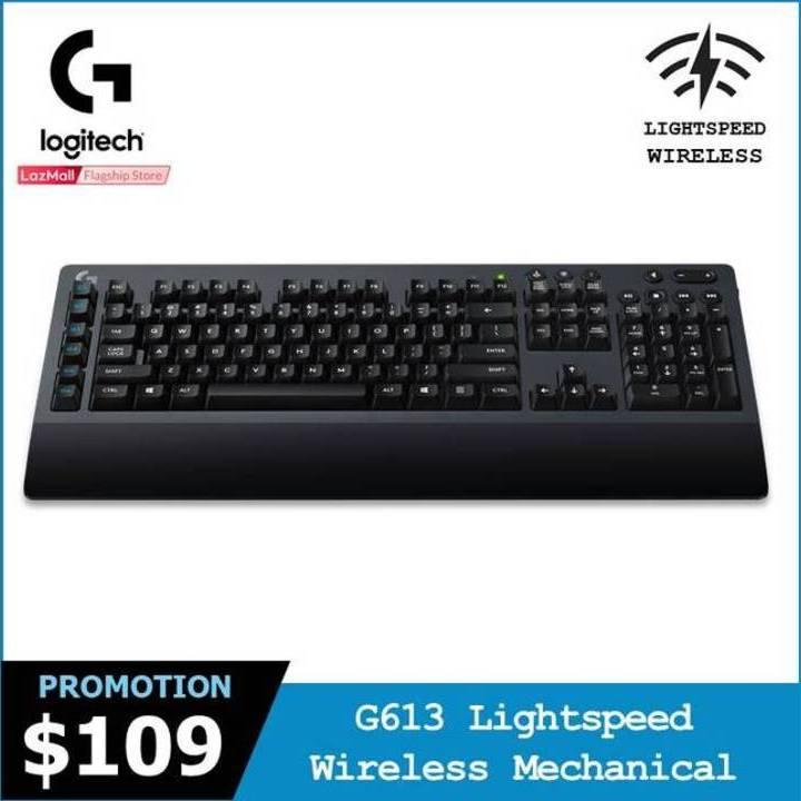 Logitech G613 Lightspeed Wireless Mechanical Gaming Keyboard  #GearUpForRewardsSep2018 Singapore