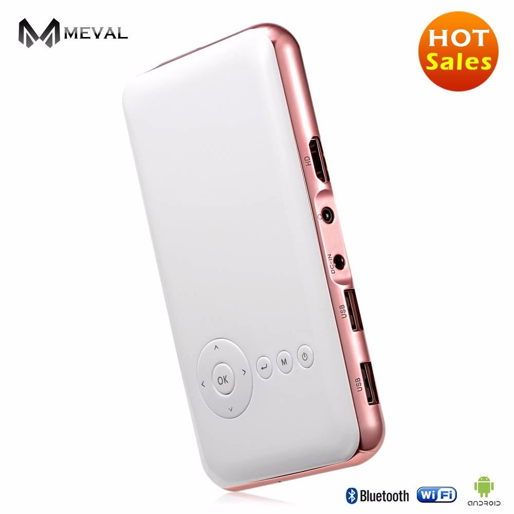 Buy Meval S6S Bluetooth Mini Projector Android Wifi Wireless Iphone Hd Home Theater Cheap China