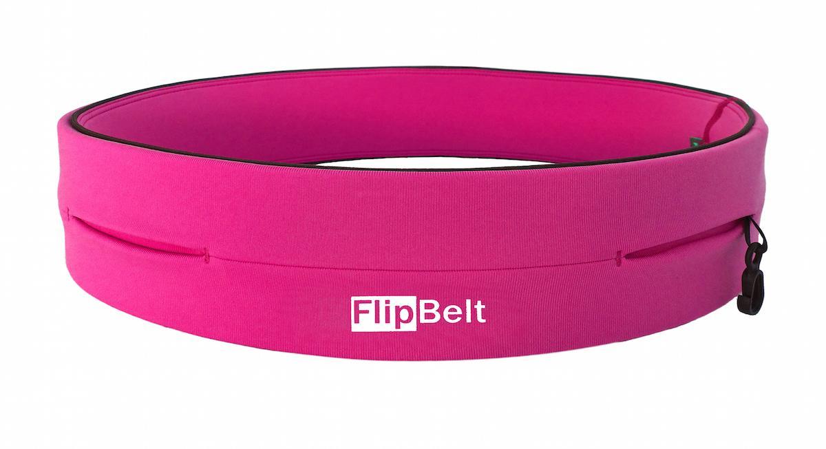 Flipbelt Running And Travel Waist Belt - Hot Pink, Xs. Made In Usa By Illuminatez.