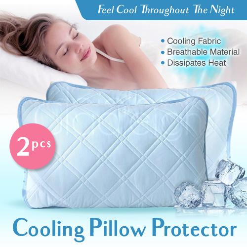 Cooling Pillow Protector Mat *set Of Two* / Bedding Accessories / Suit Your Bedsheet Set By Gladleigh.