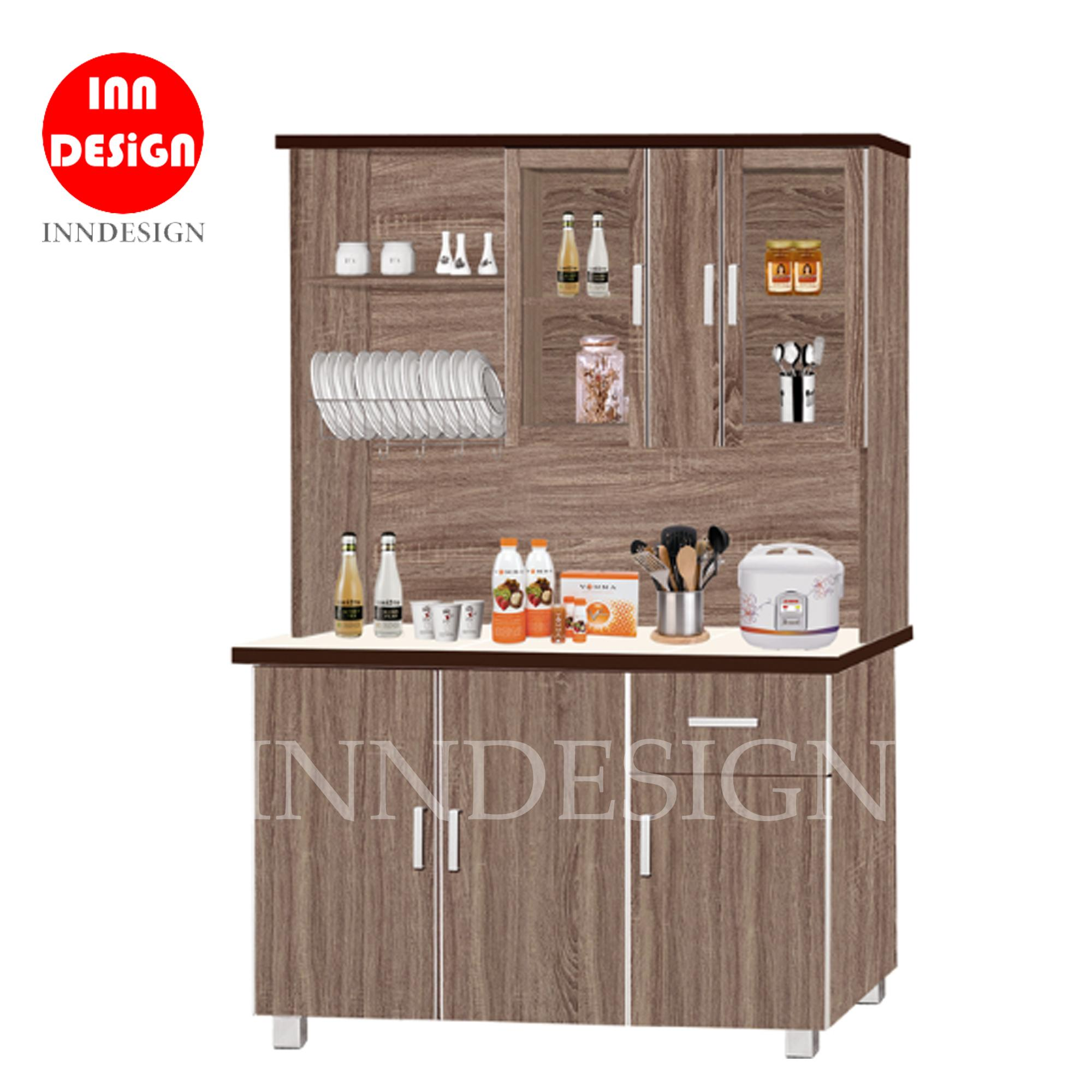 Ceva Kitchen Cabinet with Top