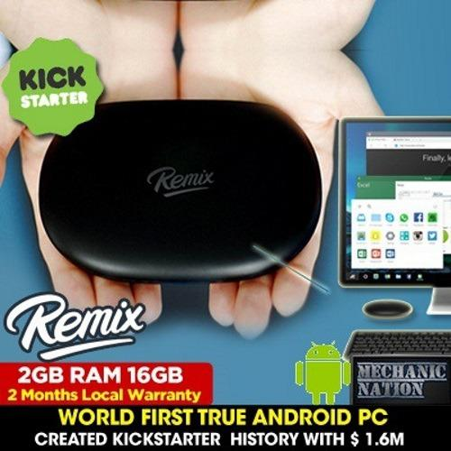 Sale Clearance New Remix Mini Rm1G Android Pc 2Gb Ram 16Gb Storage Deal Remix Cheap