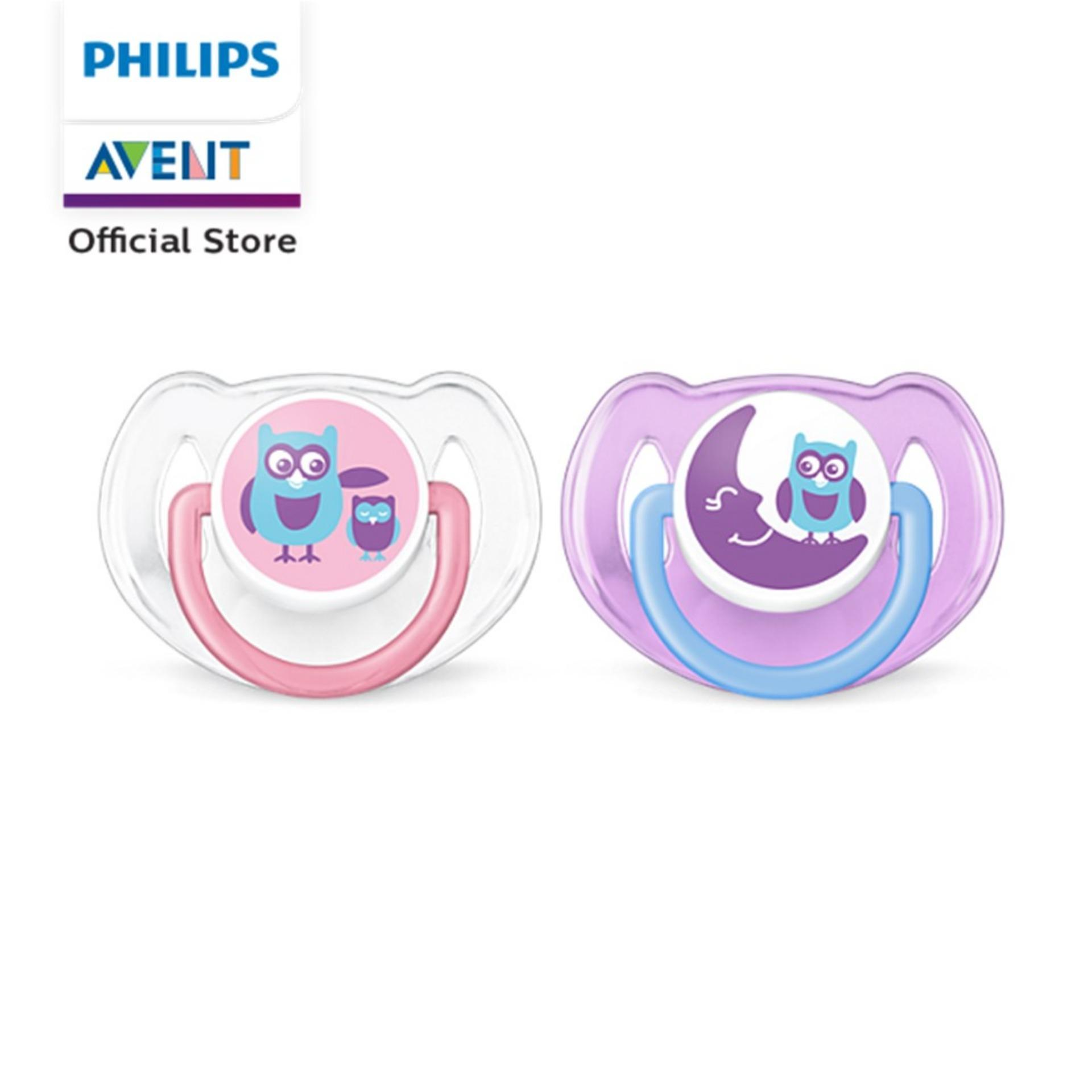 Philips Avent Classic Pacifier 6-18m Twin Pack - Pink By Philips Avent Official Store.