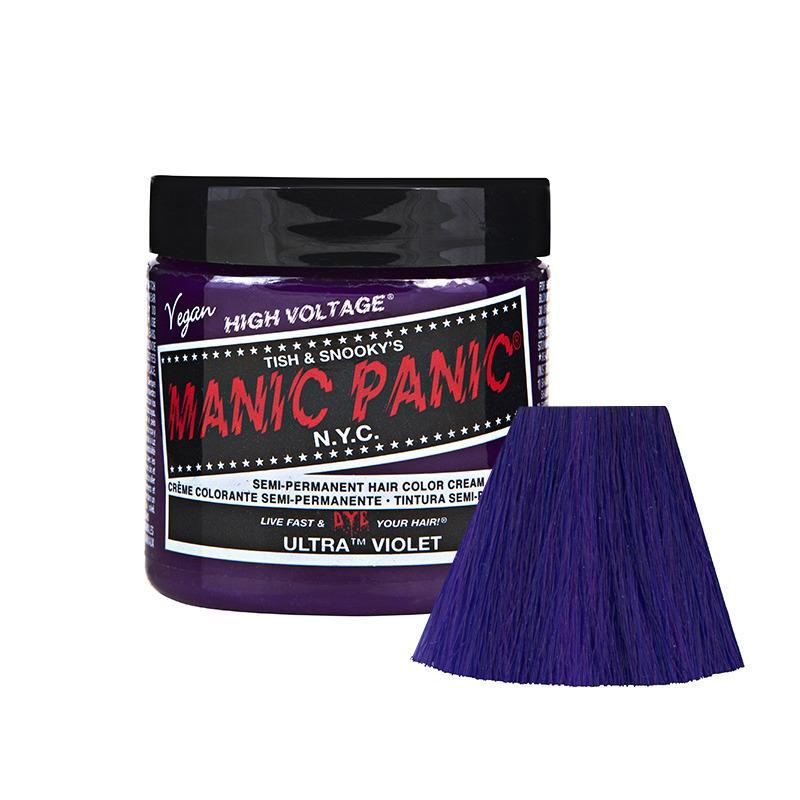Price Manic Panic High Voltage Classic Cream Formula Hair Color Ultra Violet Manic Panic New