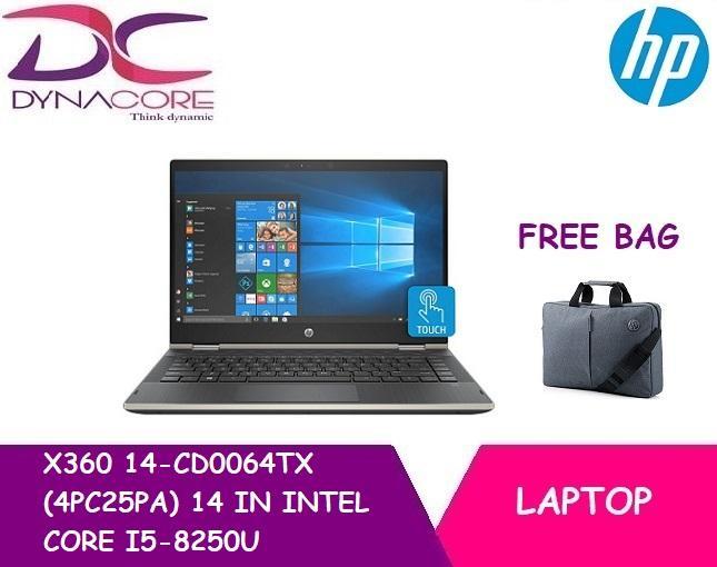 HP X360 14-CD0064TX (4PC25PA) 14 IN INTEL CORE I5-8250U 8GB 1TB 16GB OPTANE WIN 10