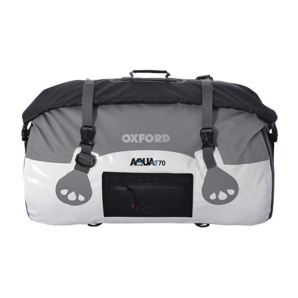Oxford Aqua T-70 Roll Bag - White/Grey