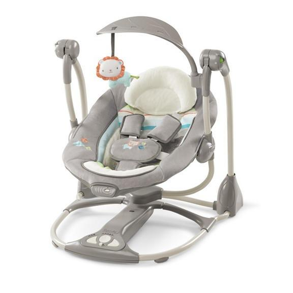 Bright Starts Ingenuity Convertme Swing 2 Seat Portable Swing Candler Bright Starts Discount