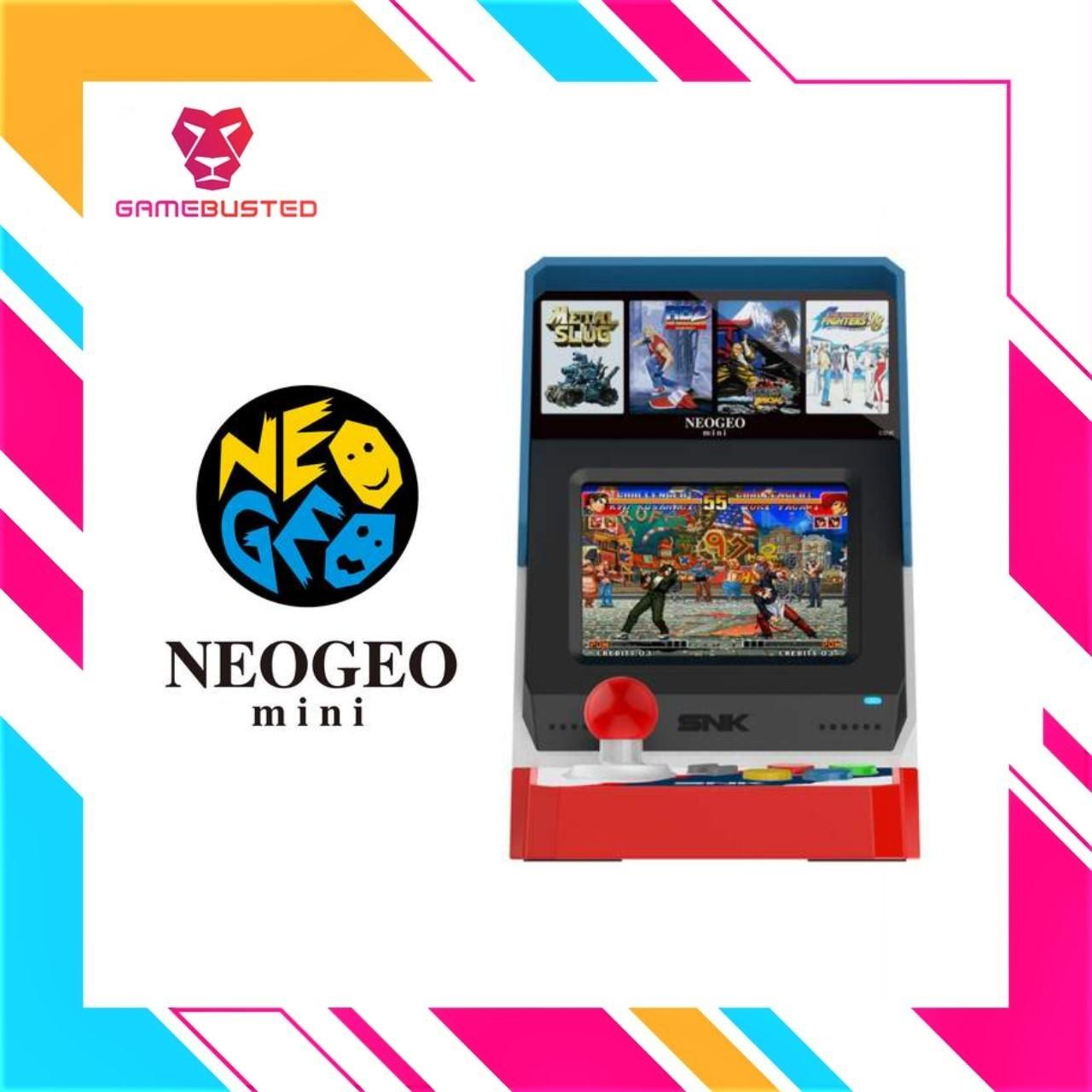 Neogeo Snk 40th Anniversary Mini Console (in Stock Now) By Game Busted.