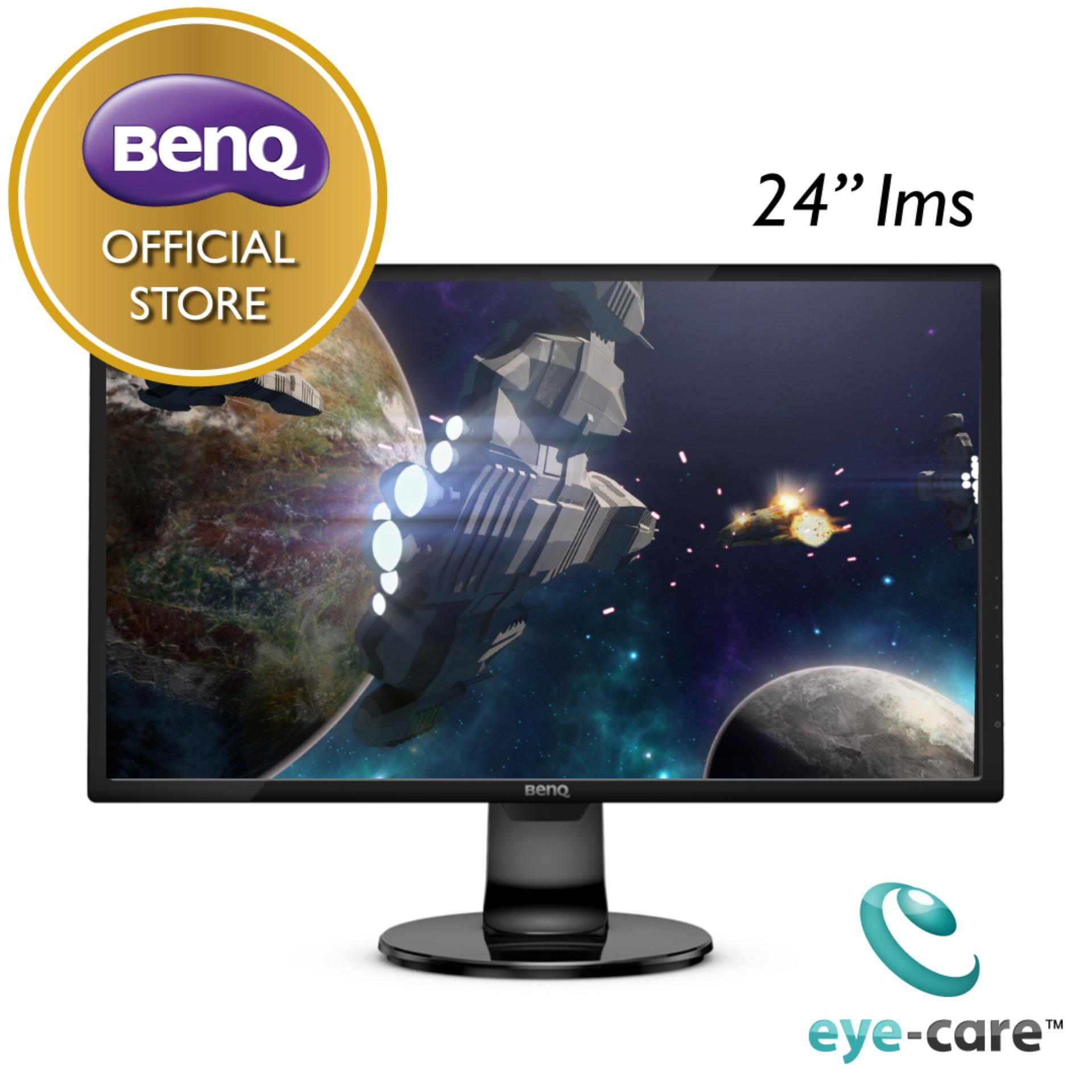 BenQ GL2460BH HDMI, D-Sub, DVI ports Screen Auto-adjustment Eye Care Monitor