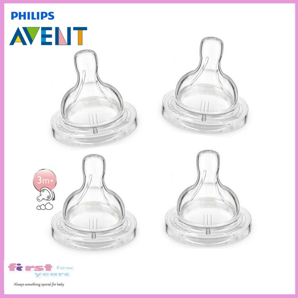 Who Sells Philips Avent Classic Teat For Classic Bottles Variable Flow 3M Twin Pack Cheap