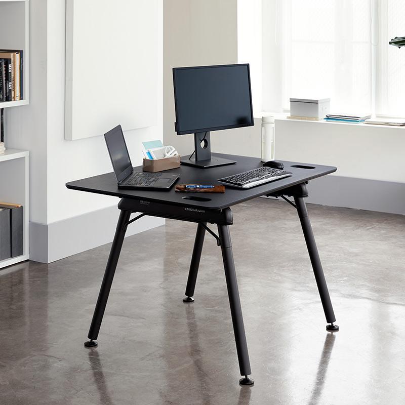 VARIDESK Ergonomic Standing Desk Pro Desk 60 (Black)