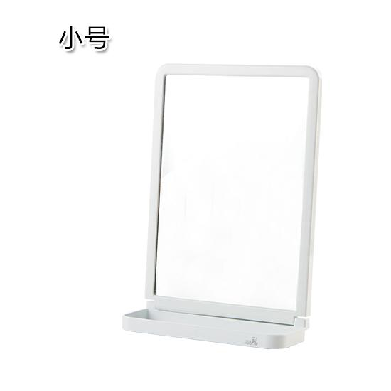 Household Square Cosmetic Mirror Creative Bathroom Wall Hanging Dressing Mirror gong zhu jing Simple Bathroom Wall Mirror