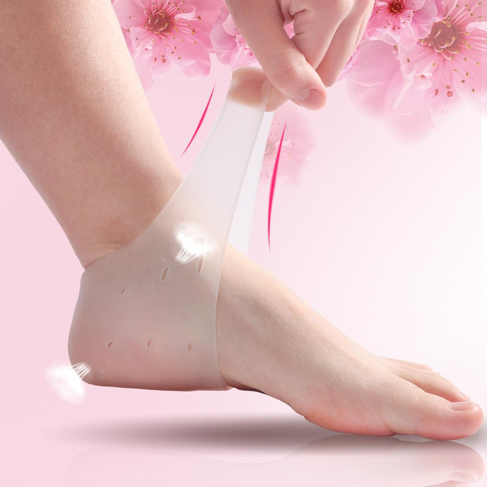 Followed By Protective Case Silica Gel Heel Case For Both Men And Women Anti-Feet Crack Socks Moisturizing Anti-Dry Foot-Care Socks By Taobao Collection.