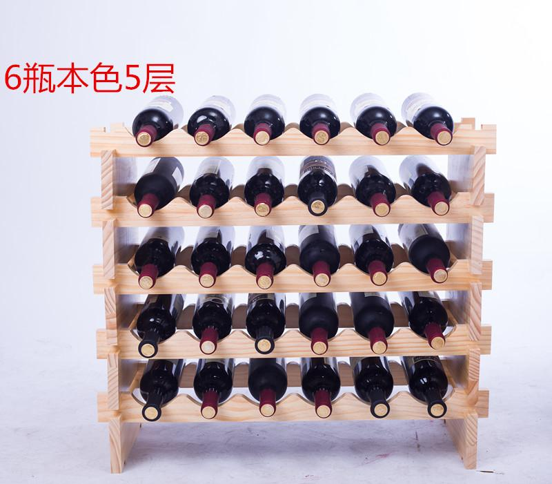 Simple Solid Wood Wine Rack Infinite Superimposed European Style Creative Decoration Wood Wine Cabinet Hyundai Jiu Jia Zi Manufacturers Direct Selling By Taobao Collection.