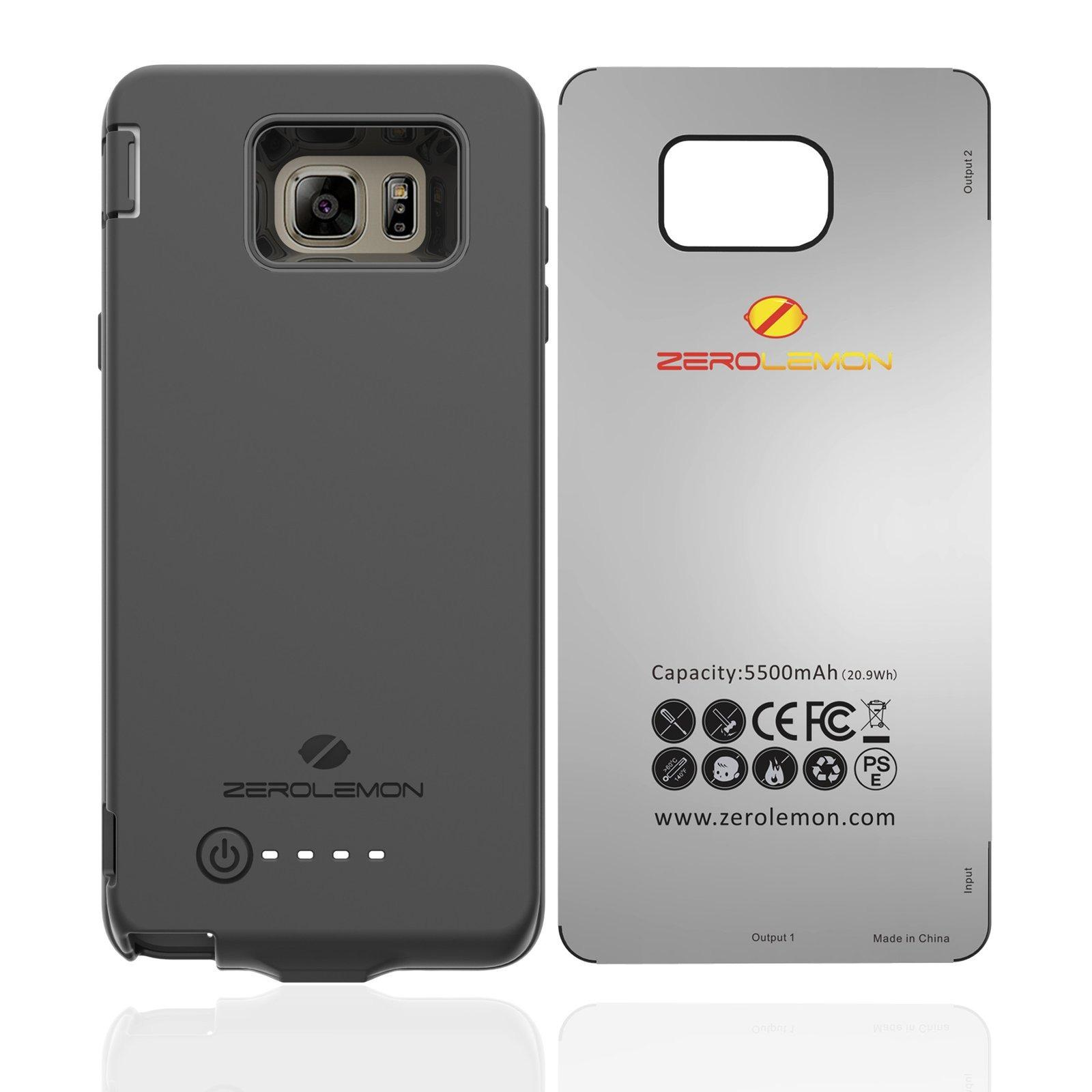 Best Buy Zerolemon 5500Mah Tpu Battery Case For Samsung Galaxy Note 5