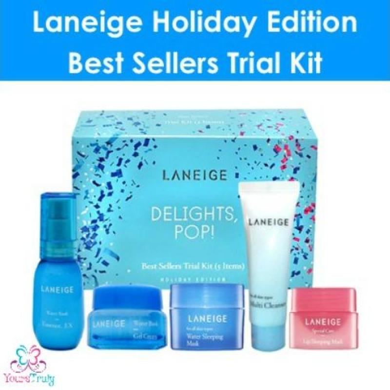 Buy Laneige Holiday Edition Best Sellers Trial Kit 5 Items Singapore