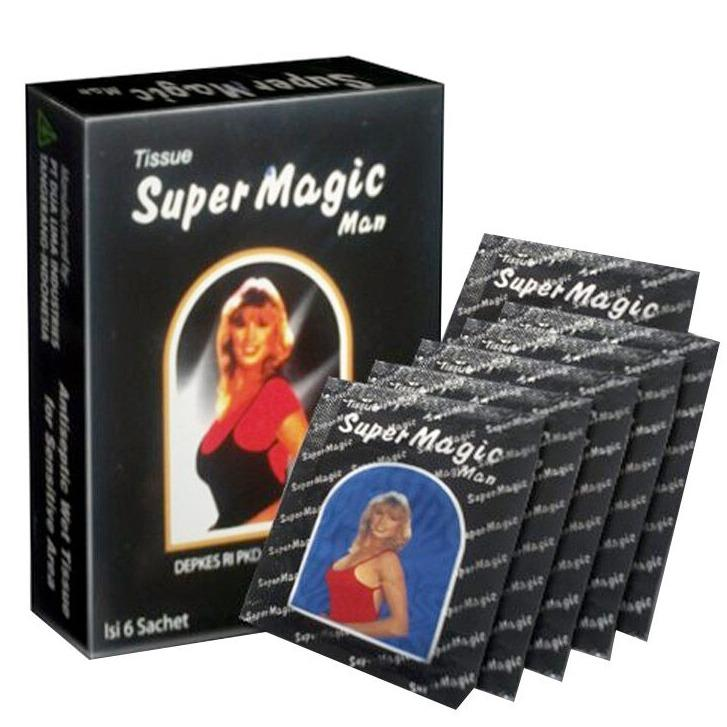 Super Magic Man Tissue (last Longer, Harder & Increases Stamina) By The Bro Store.