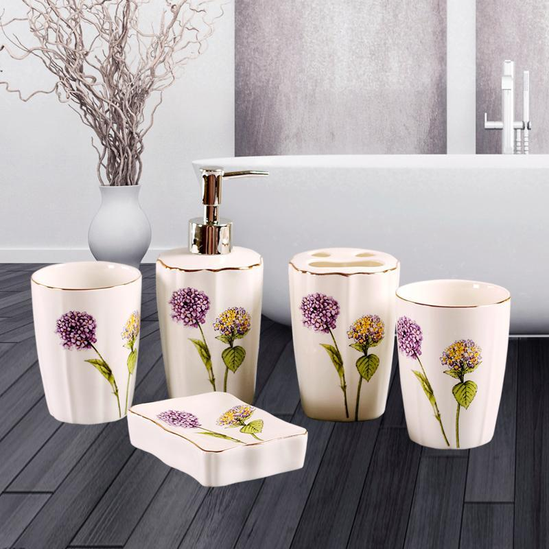 Buy Washed sanitary ware European ceramic cup Dandelion Singapore