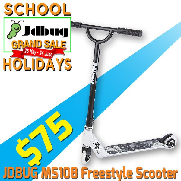 Jdbug Ms108l Freestyle Pro Scooter C-Bar (black) By Trimen Ventures Pte Ltd.