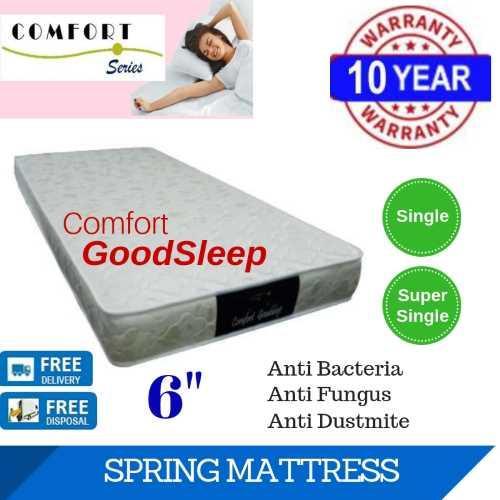 Comfort GoodSleep 6in Spring Mattress