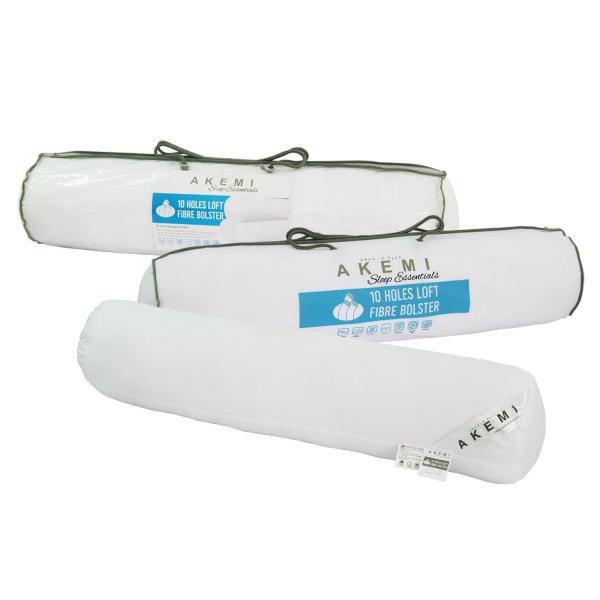 AKEMI Sleep Essentials 10 Holes Loft Fibre Bolster