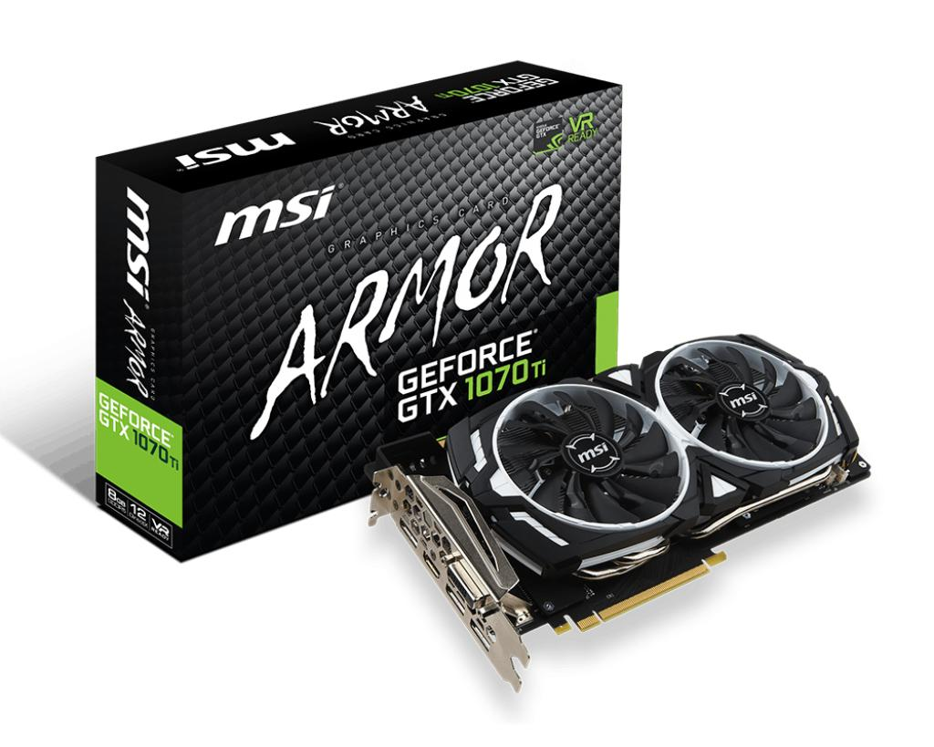 Msi Geforce Gtx 1070 Ti Armor 8G In Stock