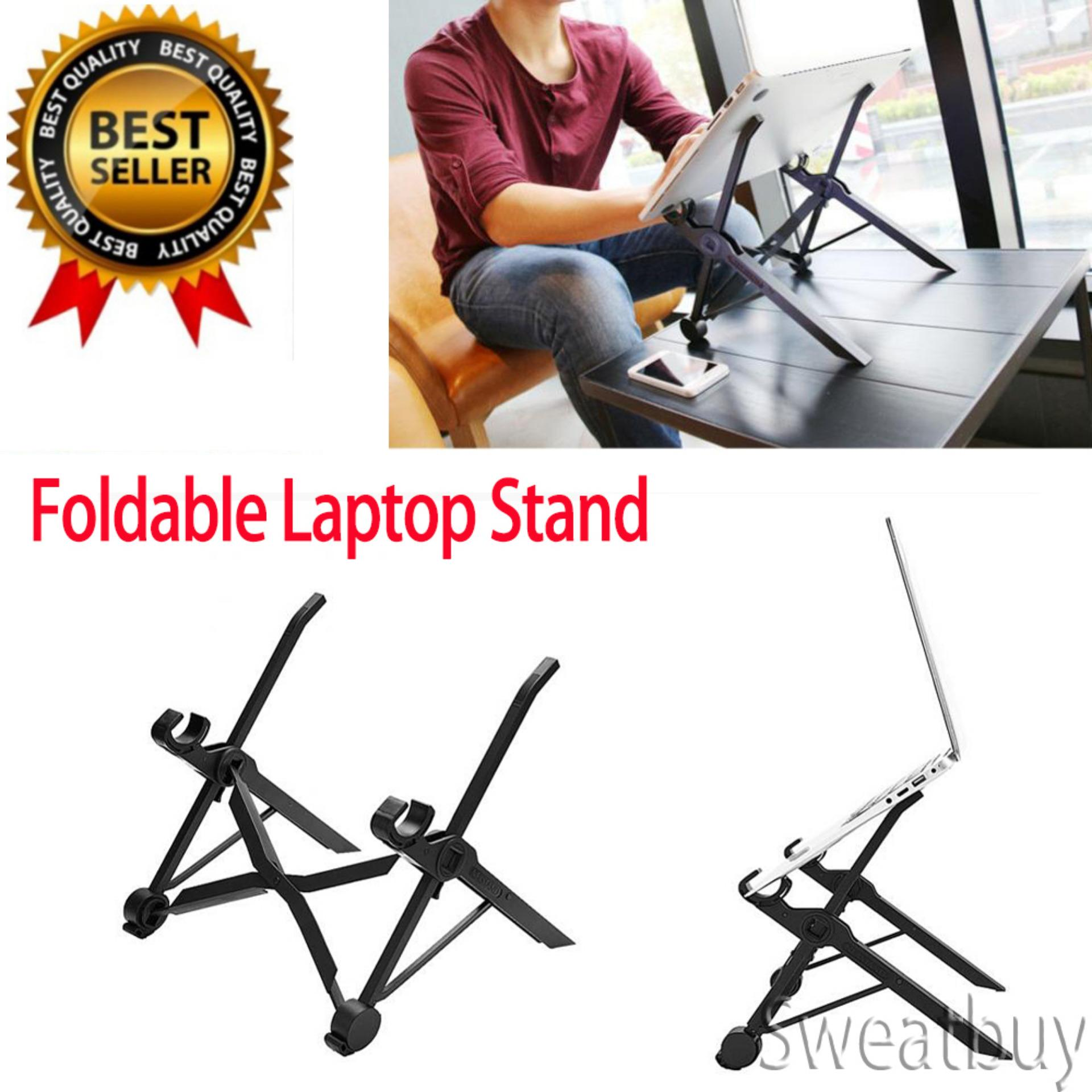 Buy Buy 1 Get 1 Free Gift Nexstand Foldable Laptop Stand Table Adjustable Height Lapdesk For Notebook Intl Cheap China