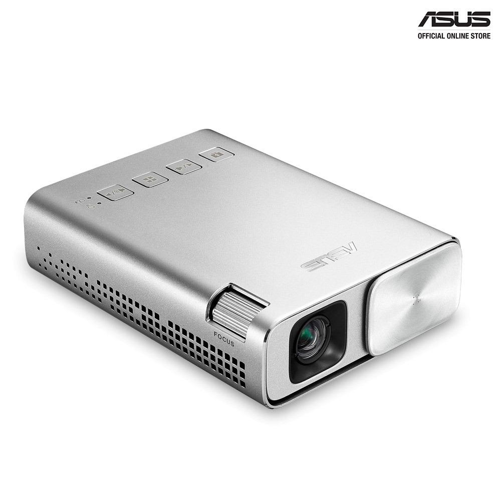 ASUS ZenBeam E1 Pocket LED Projector, 150 Lumens, Built-in 6000mAh Battery, Up to 5-hour Projection, Power Bank, Auto Keystone Correction, HDMI/MHL