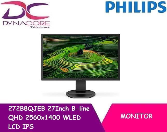Philips 272B8QJEB 27Inch B-line QHD 2560x1400 wled LCD IPS Monitor
