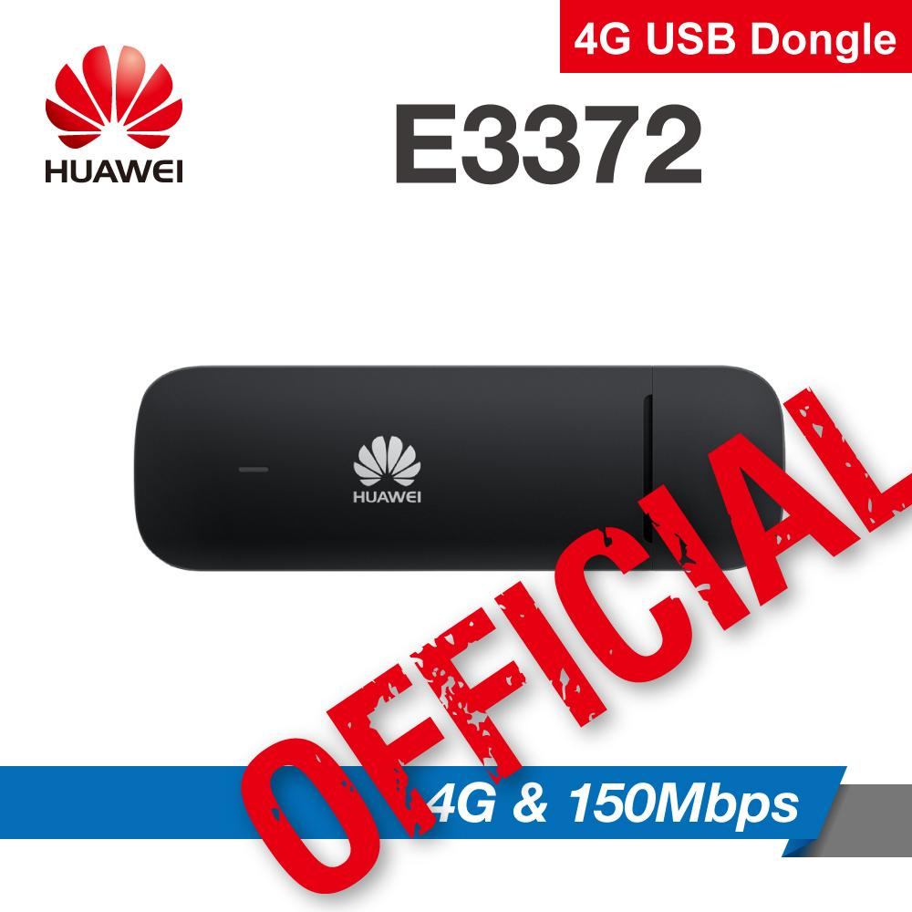 Huawei E3372 4g Sim Card Usb Modem E3372h-153 (black) Dongle Router On9market By On9market.