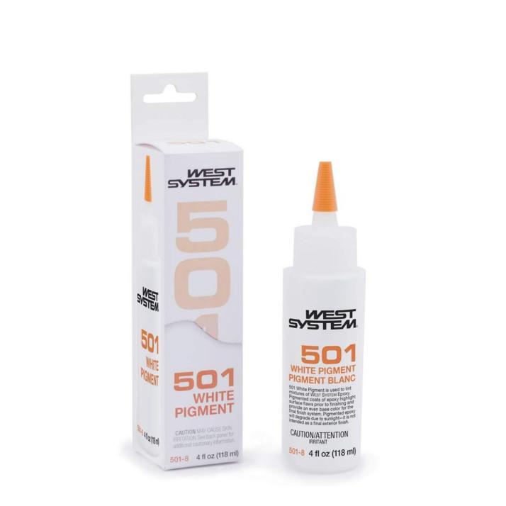 West System Epoxy Pigment 501 White 125ML