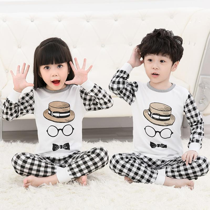 Big Kids Pyjamas /children Family Couple Pyjamas Set Up To Size 180cm Boys [pjn05] By Jolly Sg.