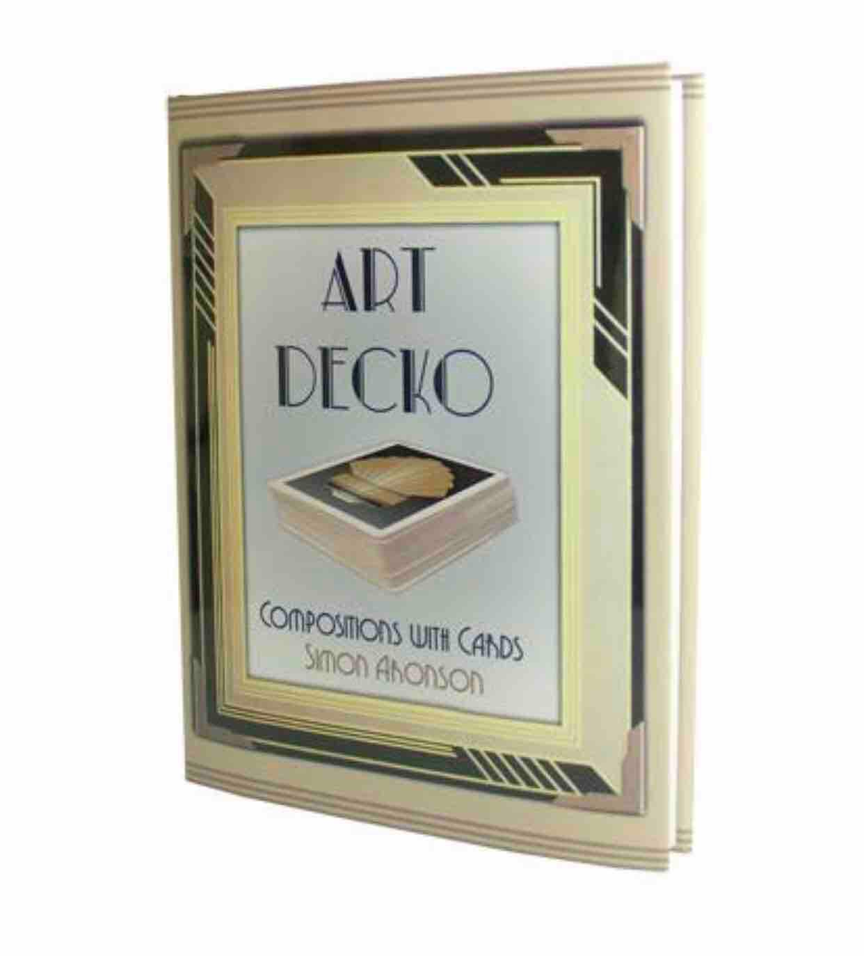 Art decko by Simon - card trick magic book