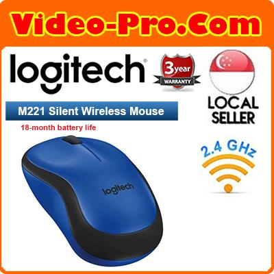 Logitech M221 Silent Plus Wireless Mouse 3 Year Local Warranty