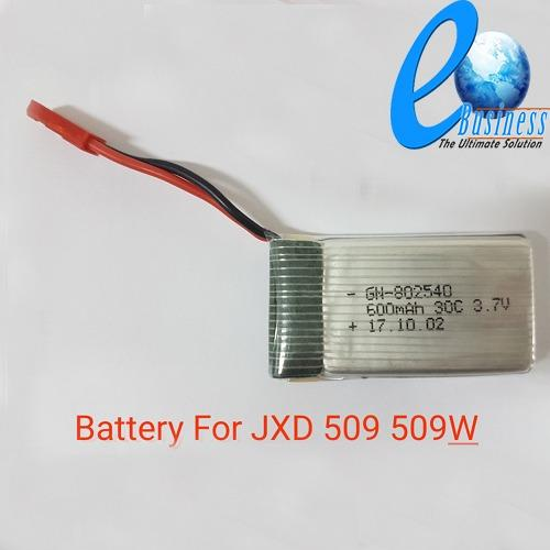 Buy Jxd 509W Quadcopter Drone Accessories 600Mah Battery On Singapore