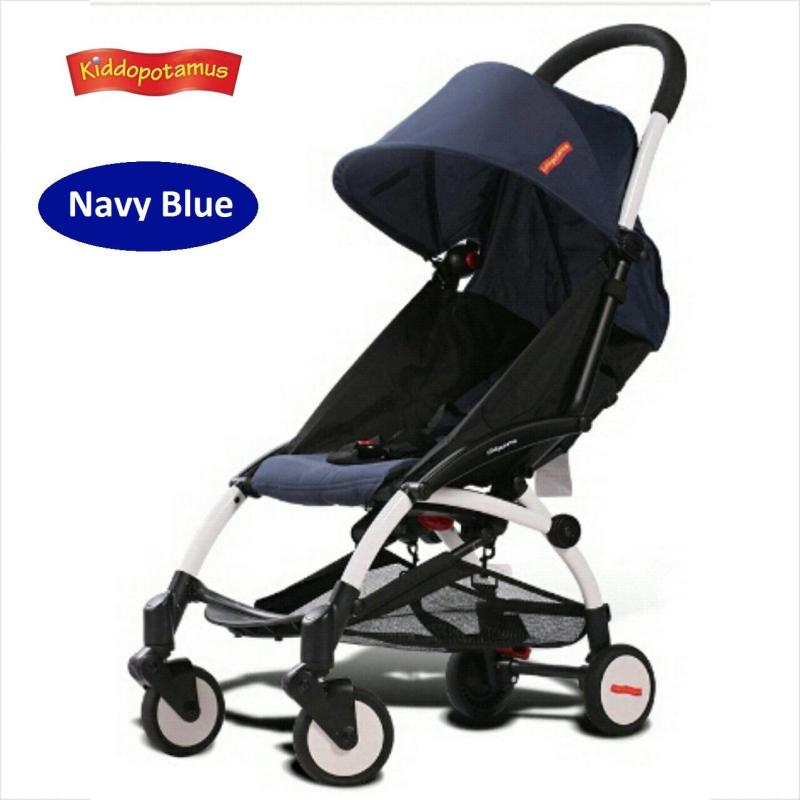 ★LOCAL SELLER★Kiddopotamus® Cabin size Ultra Lightweight one hand fold baby stroller - Carriage Infant Travel Flight★Fast Delivery 2 days★ Singapore